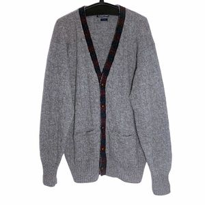Polo Ralph Lauren 100% Wool Cable Knit Cardigan